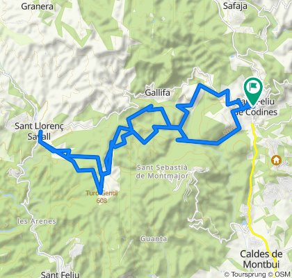De BP-1241 1B, San Felíu de Codinas a Carrer Travessia 2, Sant Feliu de Codines