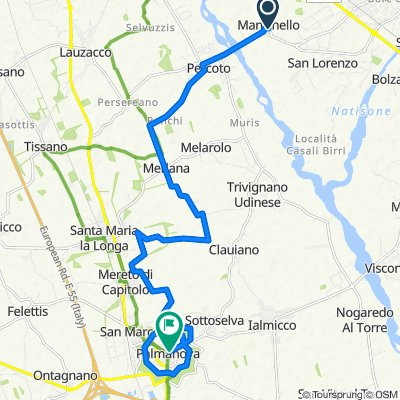Da Via Principale 11, Manzinello a Borgo Cividale 4, Palmanova