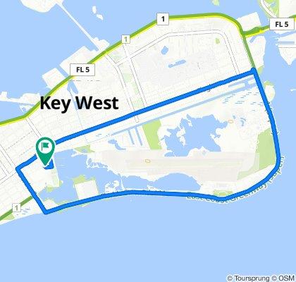 1546 Fourth St, Key West to 1542 Fourth St, Key West