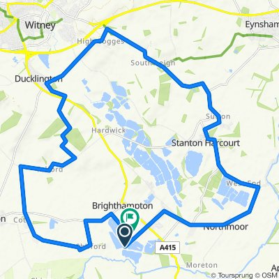 South Leigh, Ducklington, and Yelford