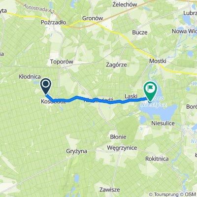 Trasa do Przełazy 20, Lubrza