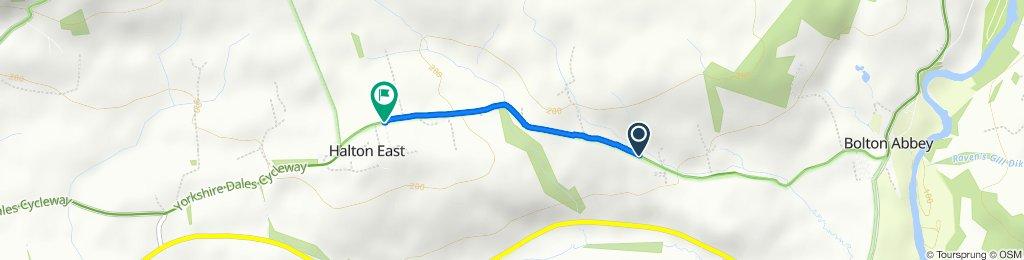 Route to Chapel Lane, Skipton