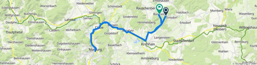 Tour nach Marburg