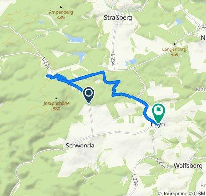 L236, Südharz nach Mittelstraße 7, Südharz