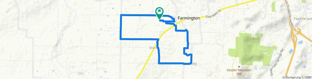 505 Aster Ave, Farmington to 510 Aster Ave, Farmington