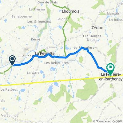 Itinéraire vers 11 Rue de la Mairie, La Ferrière-en-Parthenay