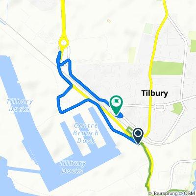 Ferry Road, Tilbury la 133 Dock Road, Tilbury