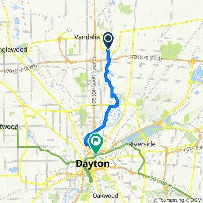 533–599 S Cassel Rd, Vandalia to 35–55 Deeds Park Dr, Dayton