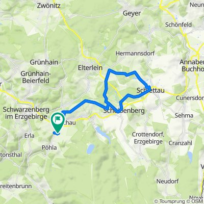 An der Lohe 18A, Raschau-Markersbach nach An der Lohe 18A, Raschau-Markersbach