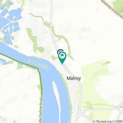 De 2 Chemin de la Moselle, Malroy à 12 Rue Principale, Malroy