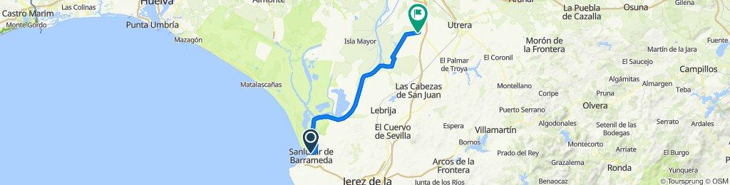 (4) Sanlúcar de Barrameda - Los Palacios