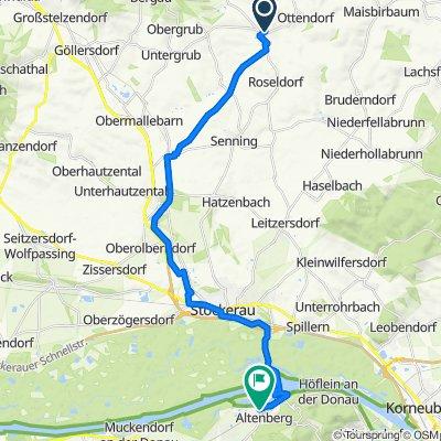 Hochstraße 150, Großmugl nach Grabenweg 1, Sankt Andrä-Wördern