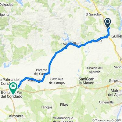 Las Pajanosas - Bollullos par del Condado (Auto)