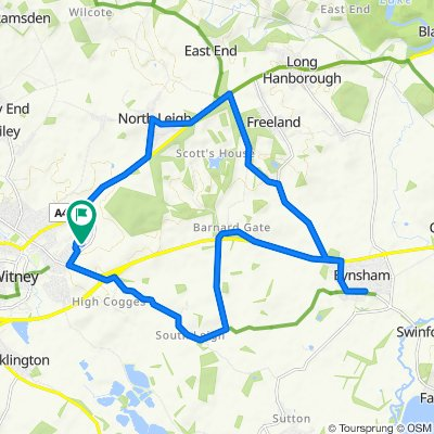 10 Cranberry Road, Witney to 12 Cranberry Road, Witney