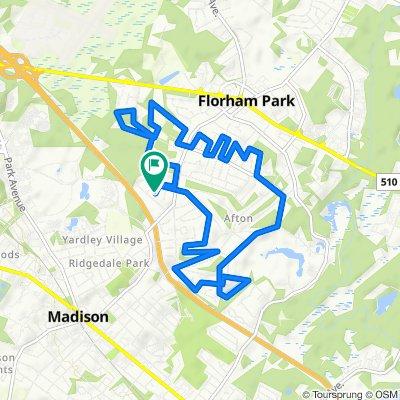 1 Kenwood Ln, Florham Park to 2 Kenwood Ln, Florham Park
