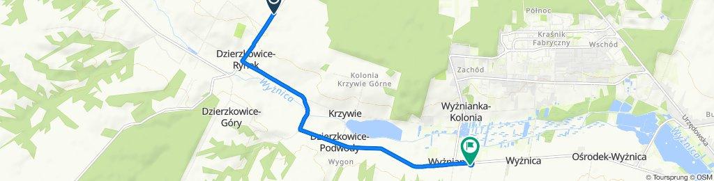 Dzierzkowice-Rynek 17B, Dzierzkowice do Wyżnianka 48, Wyżnianka