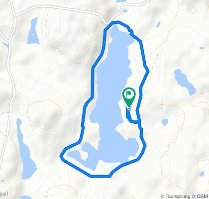 1799 Roaming Wood Ct, Lake Ariel to 42 Roaming Wood Ct, Lake Ariel