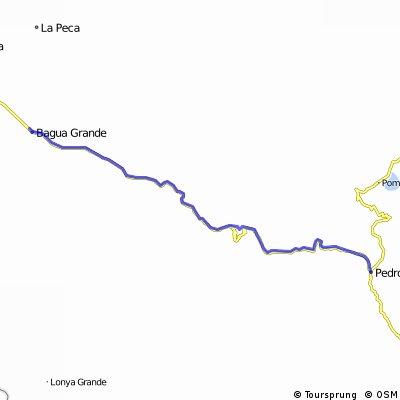 Bagua Grande to Pedro Ruiz