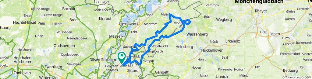 Guttecoven - Grote fietstocht door Limburg & Selfkant 2020