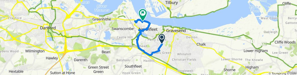 short ride through Northfleet and back again