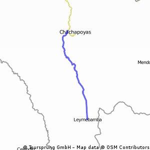 DV Chachapoyas to Leymebamba
