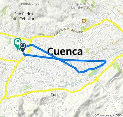 De Avenida Carlos Arízaga Vega, Cuenca a Juan Machuca, Cuenca