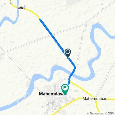 Gujarat State Highway 3, Sojali to Unnamed Road, Mahemdavad