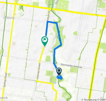50-72 Harrison Street, Brunswick East to 52 Nicholson Street, Coburg