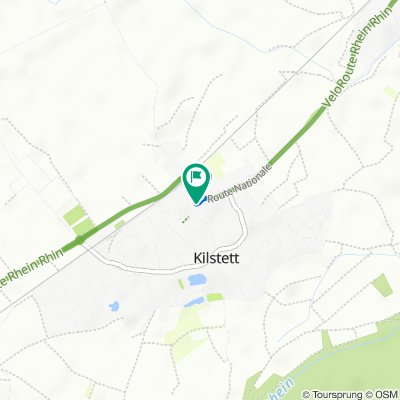 6 Route Nationale, Kilstett nach 4 Rue de Janailhac, Kilstett