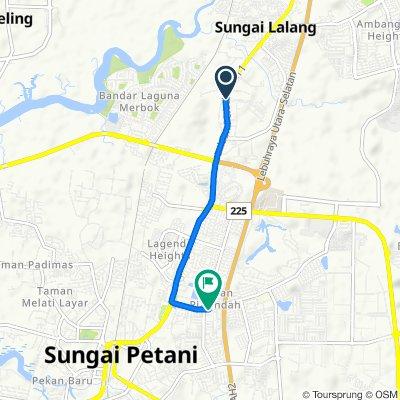 Jalan 2b a131, Sungai Petani to Taman Bandar Baru, Sungai Petani