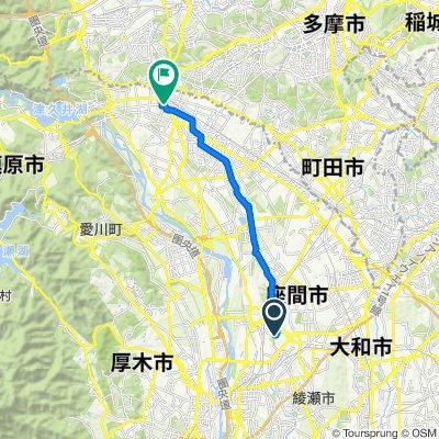 8-8, Iriyahigashi 4-Chōme, Zama-Shi to 3-21, Nishihashimoto 5-Chōme, Midori-Ku, Sagamihara-Shi