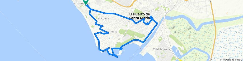 Fuentebermeja - Centro - Puerto Sherry - Vistahermosa