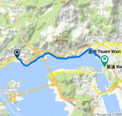 36–40 Castle Peak Road – Sham Tseng, Sham Tseng to 1 Yi Hong Street, Tsuen Wan