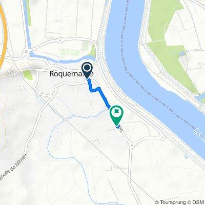 De 84 Boulevard National, Roquemaure à 1 Rue du 19 Mars 1962, Roquemaure