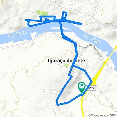 De Rua João Cirino, 134–256, Igaraçu do Tietê a Rua João Cirino, 134–256, Igaraçu do Tietê