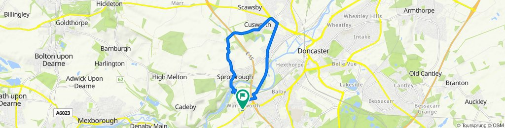 4 Mill Lane, Doncaster to 4 Mill Lane, Doncaster