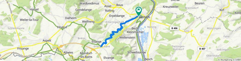 De Route de Mondorf 17, Remich a Route de Mondorf 20, Remich
