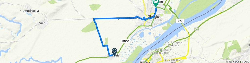 DN5C 693, Slobozia to Bulevardul Daciei 21, Giurgiu