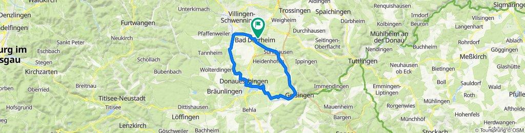 Johann-Peter-Hebel-Weg 15, Bad Dürrheim nach Johann-Peter-Hebel-Weg 13, Bad Dürrheim