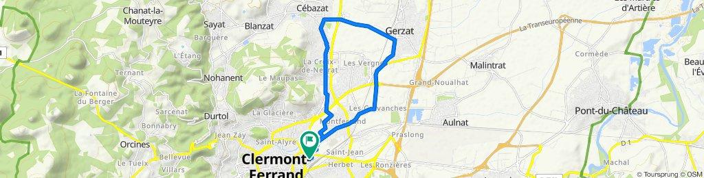 De 6 Rue de Colmar, Clermont-Ferrand à 7 Rue de Colmar, Clermont-Ferrand