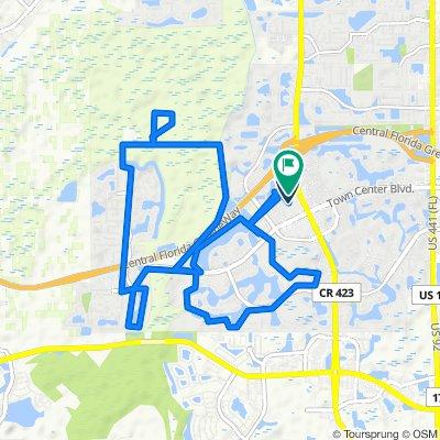 13773–13799 Beauregard Pl, Orlando to 4057 Viosca Pl, Orlando