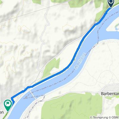 De Route d'Aramon, Les Angles à 457 Chemin du Rhône, Aramon