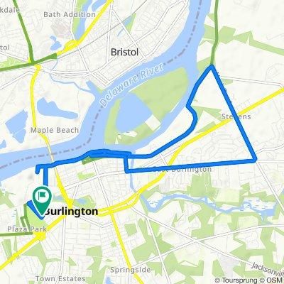 924 Woodland Ave, Burlington to 924 Woodland Ave, Burlington