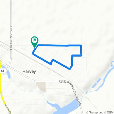 416 Alder Ave, Harvey to 416 Alder Ave, Harvey