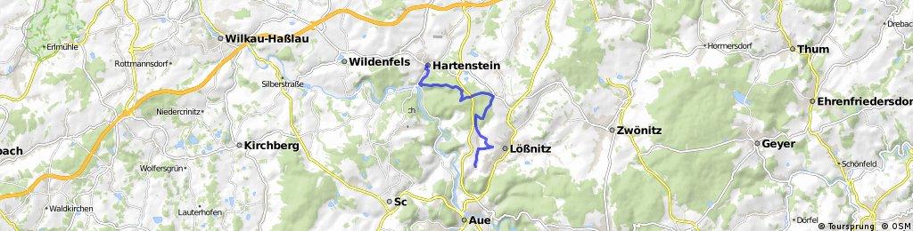 Von Alberoda nach Hartenstein