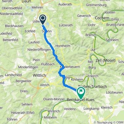 Am Kirchberg 7, Gillenfeld nach Gestade 6, Bernkastel-Kues