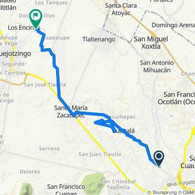 De Camino Real a San Gabriel 872, Cholula a Avenida Aurea