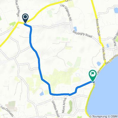 Hamilton, La Route des Capelles, St Sampson to Le Grand Bouet, St Sampson
