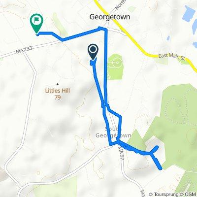 40 Andover St, Georgetown to 19 Bradford Loop, Georgetown
