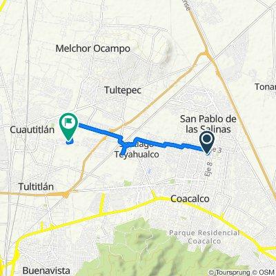 De Boulevard De Las Flores 635, San Francisco Coacalco a Grande 39, Cuautitlán